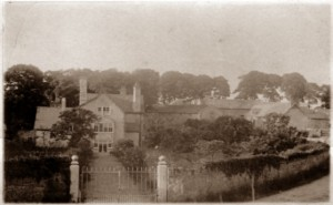 Photograph of Plas Uchaf taken in 1914