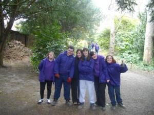 Garden Volunteers at Mostyn Hall