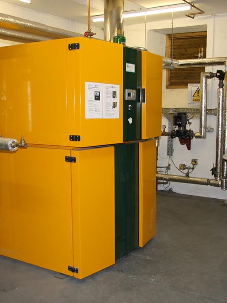 Innovations at Mostyn Hall – Installing the Biomass Boiler
