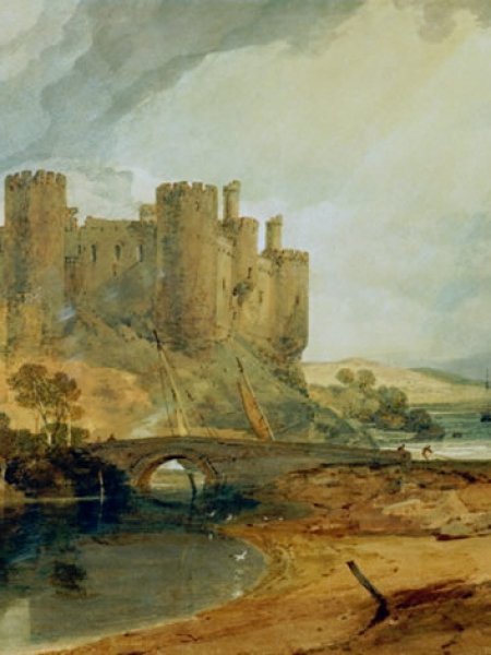 The rise of artistic interest in North Wales