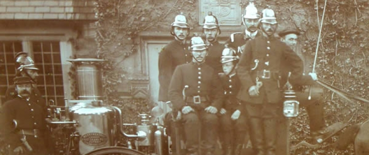 The Mostyn Fire Brigade (c.1900)