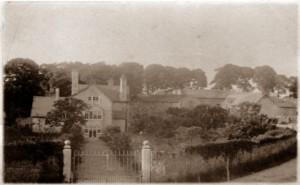 Photograph of Plas Uchaf taken in 1914