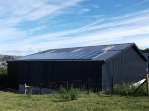 Llandudno PV panels July2012