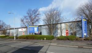 Llandygai Industrial Estate in Bangor