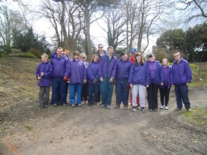Garden Volunteers at Mostyn Hall