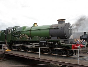 Earl of Mount Edgumbe steam locomotive