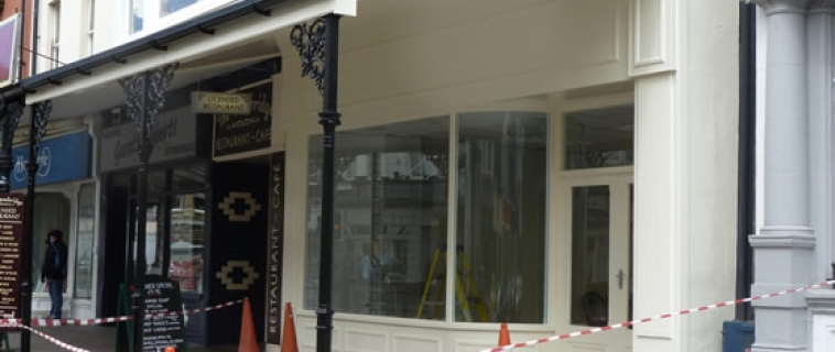 A high quality shop refurbishment