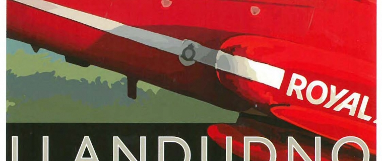 Red Arrows over Llandudno soon!