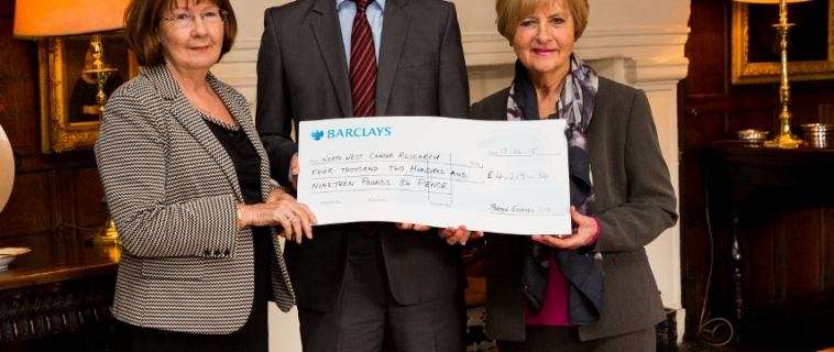 Lord Mostyn becomes honorary patron of North West Cancer Research (NWCR).