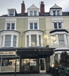 AVAILABLE NOW – Retail Premises, Trinity Buildings, 14 Augusta Street, Llandudno – £4,800 p.a.x.