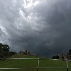 Summer Storm Clouds Over Mostyn