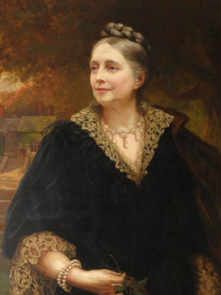 Lady Henrietta Augusta Mostyn (1830-1912)