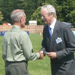 Long Service Medal awarded to Mostyn Estate Trojan